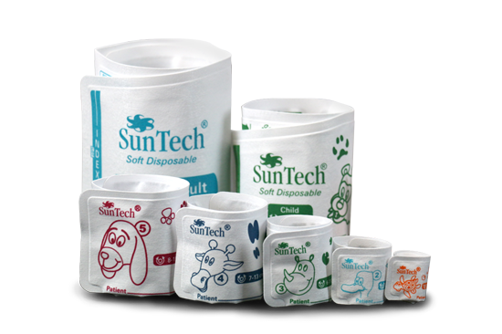 Picture of the SunTech Veterinary BP Cuffs