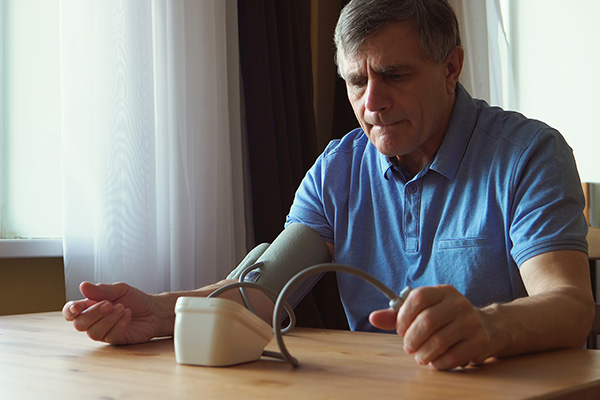 Man frustrated with home BP device