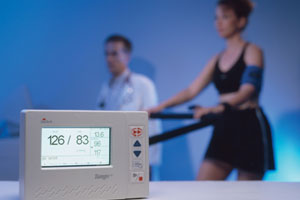 Advantages of Automated Blood Pressure Measurement during Cardiac Stress Testing