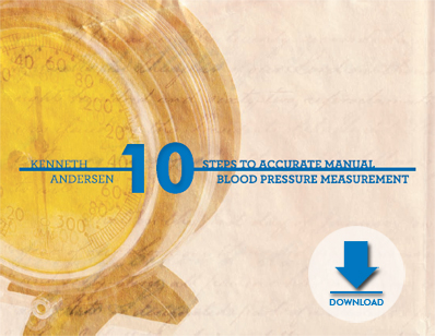 eBook: 10 Steps to Accurate Manual Blood Pressure Measurement