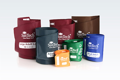 SunTech Medical One-Piece Durable Cuff family